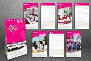 Thiết kế lịch độc quyền 2021 'làm một lần ăn cả năm'