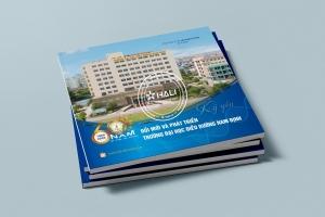 Thiết kế kỷ yếu Trường Đại học Điều dưỡng Nam Định