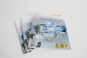 Thiết kế báo cáo thường niên CNCTech 2019