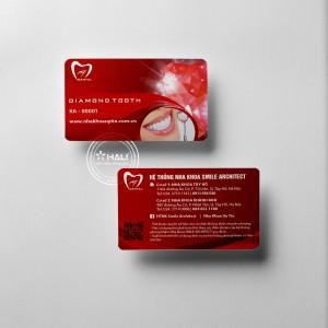Thiết kế name card Hệ thống nha khoa Smile Architect