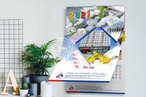 Thiết kế lịch độc quyền Công ty Cổ phần Sông Đà 6