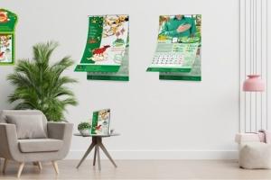 Thiết kế lịch độc quyền Tập đoàn Dabaco năm 2021