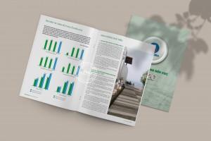 Thiết kế báo cáo thường niên Viglacera 2020