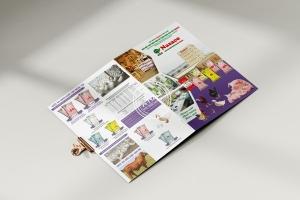 Thiết kế 7 mẫu tờ gấp cám chăn nuôi cho Tập đoàn DABACO